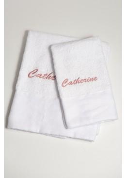 Coppia asciugamani Viso e Ospite